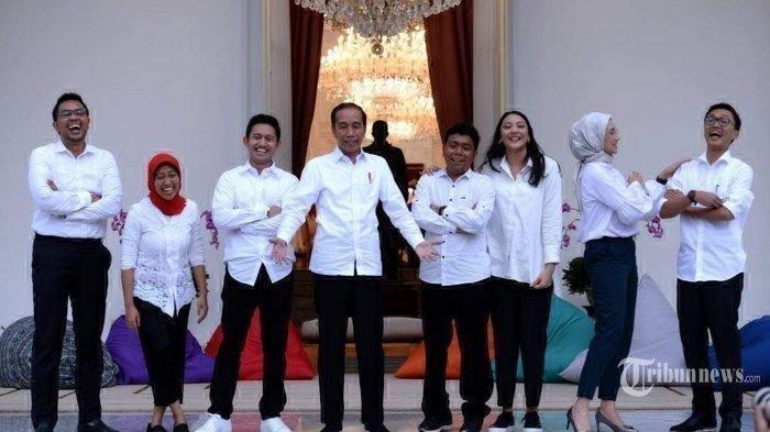 Stafsus Milenial Presiden Jokowi yang Dinilai Blunder, Mulai dari Angkie hingga Belva Devara