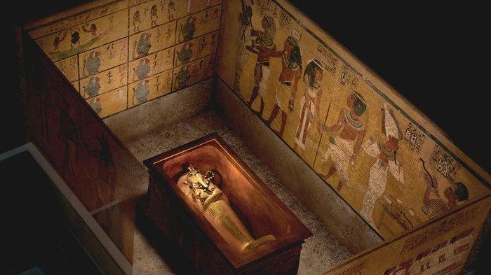Misteri Makam 'Firaun' Tutankhamun, Bintik-bintik di Dinding Makam Dibiarkan Tetap Tampil