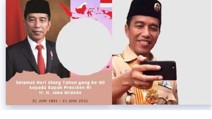 10 Twibbon Ucapan Selamat Ulang Tahun Jokowi ke-60 Bisa Dibagikan di Media Sosial