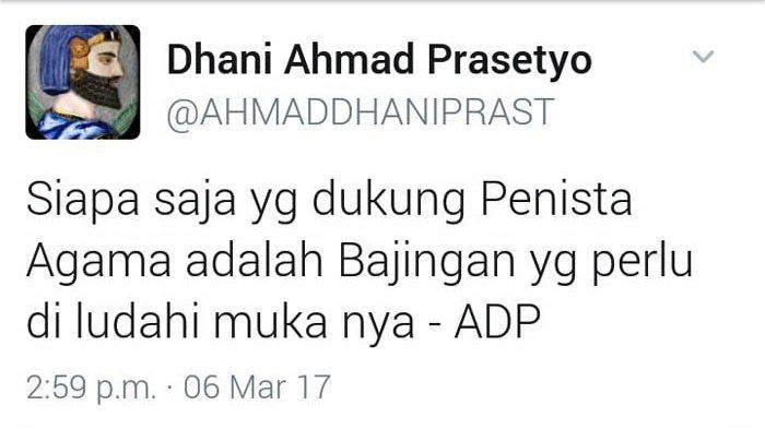 Saksi Ahli Sebut Kata Pantas Diludahi di Twit Ahmad Dhani Bukan Dalam Artian Sebenarnya