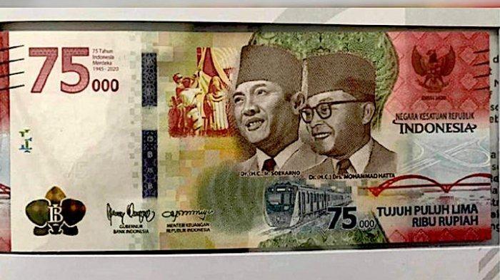 CATAT Jadwal Penukaran Uang Rp 75.000 Edisi Khusus Bank BI dan Umum, Berikut Syarat dan Tata Caranya