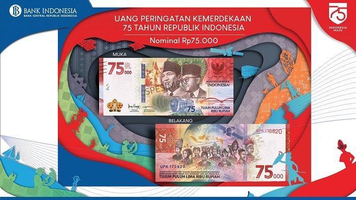 Cerita Wajah Ananda Saubaki Masuk Uang Baru Pecahan Rp 75.000 Edisi Khusus Kemerdekaan