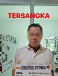 Polresta Tangerang Tangkap Pria yang Gelapkan Hasil Penjualan Sapi Kurban Hingga Ratusan Juta Rupiah