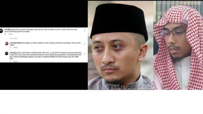Warganet Pertanyakan Uang Takziah untuk Ustaz Maaher At-Thuwailibi, Ustaz Yusuf Mansur: Siap Salah