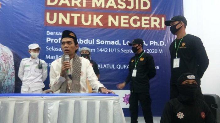 Tak Mau Kecolongan, Ustadz Abdul Somad Dikawal Ketat Saat Berceramah di Tasikmalaya