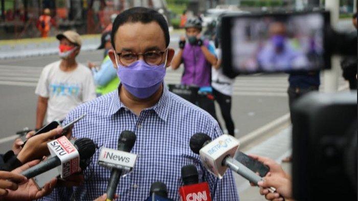 Besok PSBB Transisi, Gubernur Anies Baswedan: Penggunaan Masker Harus Ditingkatkan Minimal 85 persen