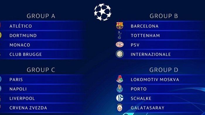 Jadwal Siaran Langsung Liga Champions Live RCTI, Laga Barcelona Mancheser United dan Juventus