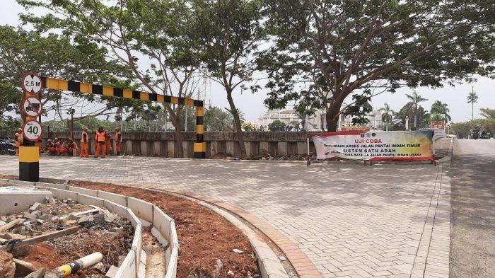 Uji Coba Jalan Inspeksi Pantai Indah Timur Menuai Protes Warga