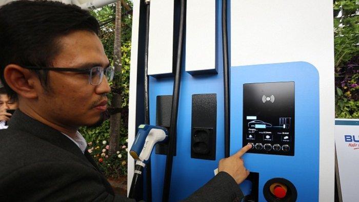 PLN Dukung Kendaraan Listrik di Jakarta, Sudah Ada 7 Unit Stasiun Pengisian Kendaraan Listrik Umum