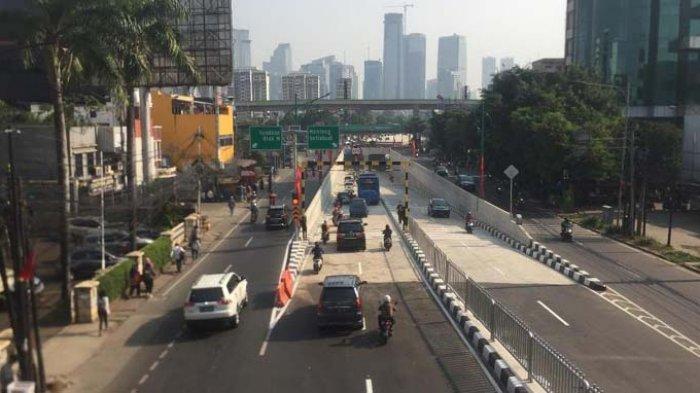 Underpass Mampang-Kuningan Bikin Warga Happy