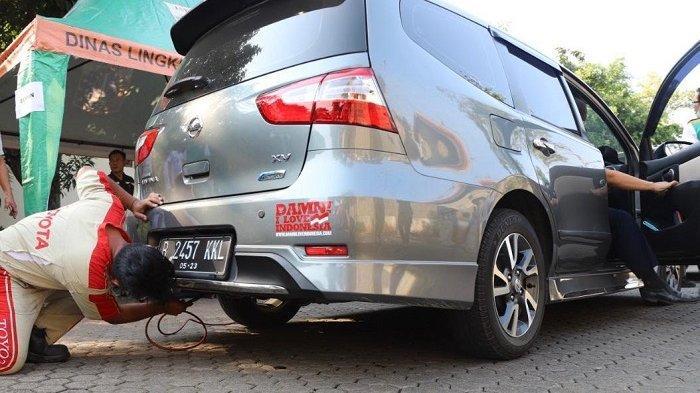 Sebanyak 61 Kendaraan Ikut Uji Emisi Gas Buang Gratis di Kantor Lingkungan Hidup