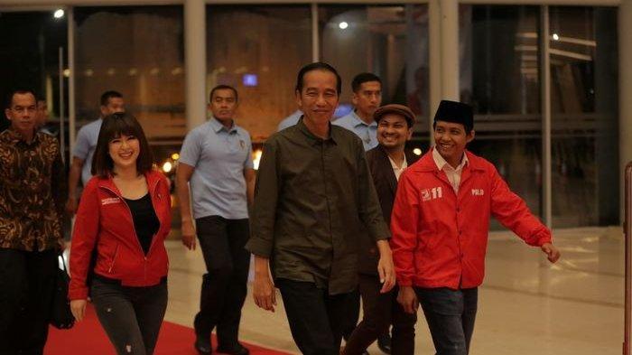 Perasaan Jokowi, Bakal Menang 2019