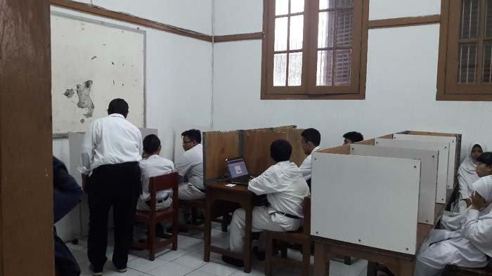 UNBK di SMPN 5 Jakarta Sempat Diwarnai Jaringan Internet Mati Selama 15 Menit