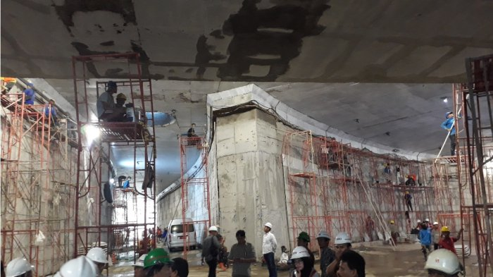 Underpass Bersejarah Matraman-Salemba Sudah Dites Pakai Mobil Sandiaga Uno