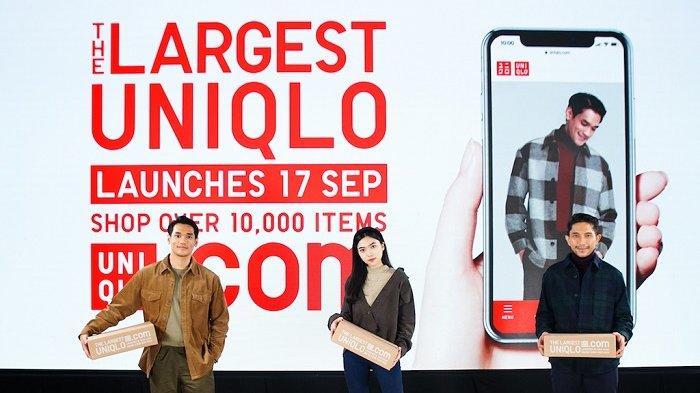 Uniqlo Memenuhi Permintaan Masyarakat Untuk Belanja Online di Uniqlo.com