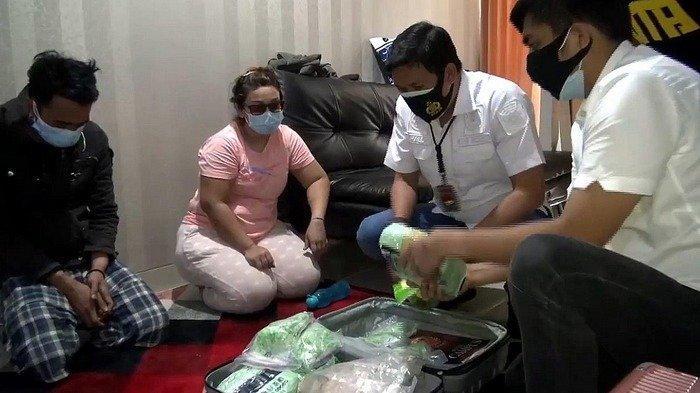 Polres Jakarta Barat Amankan Koper Berisi Sabu dan Ekstasi di Apartement Mewah