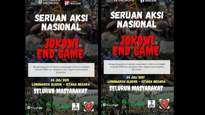 Polres Metro Jakarta Pusat Amankan Enam Orang dari Monas, Diduga Hendak Ikut Aksi 'Jokowi End Game'