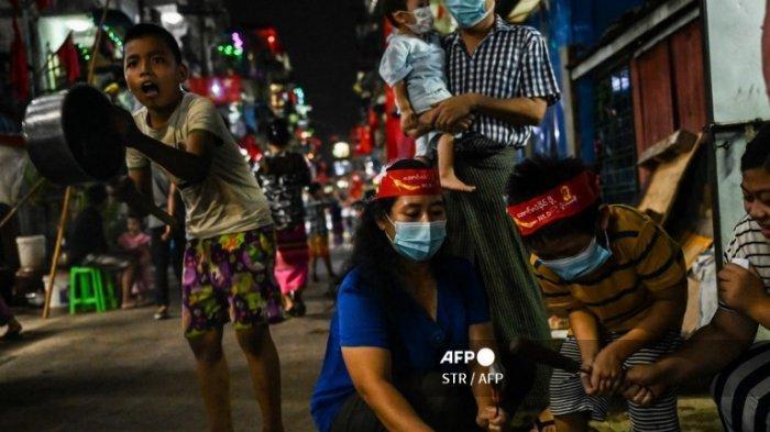 Aksi Protes Menentang Kudeta Militer di Myanmar Kembali Telan Korban Jiwa
