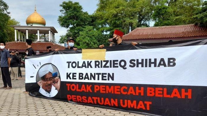 Jawara, Santri dan Ulama Ramai-ramai Kecam Aksi Ansor-Banser Tolak Habib Rizieq ke Banten