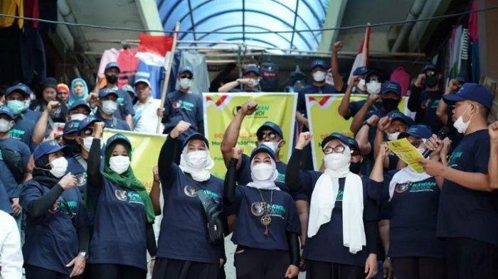 Minggu (26/9/2021) kemarin, Relawan Kawan Sandi (RKS) Pulau Lombok mendeklarasikan Sandiaga Uno maju sebagai capres di Pasar Masbagik, Lombok Timur, Nusa Tenggara Barat.