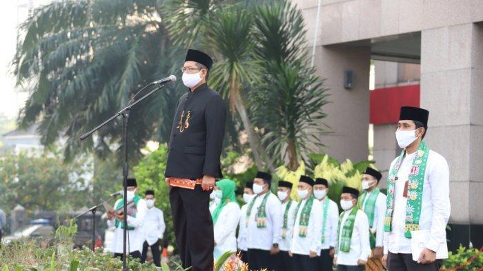 HUT ke-493 Jakarta, Wali Kota Ingatkan Pesan Gubernur Bersatu Lawan Covid