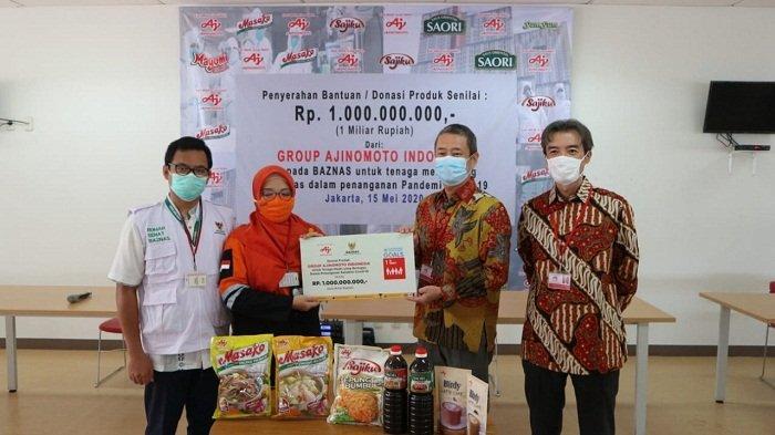 Gandeng BAZNAS, Ajinomoto Donasi Bumbu Masak Senilai Rp 1 Miliar untuk Petugas Medis dan Relawan