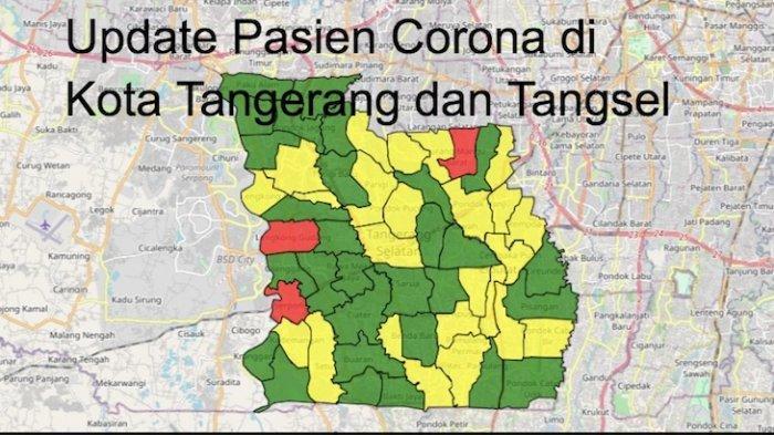 Update kasus virus corona di Kota Tangerang dan Tangsel, Selasa (20/10/2020)