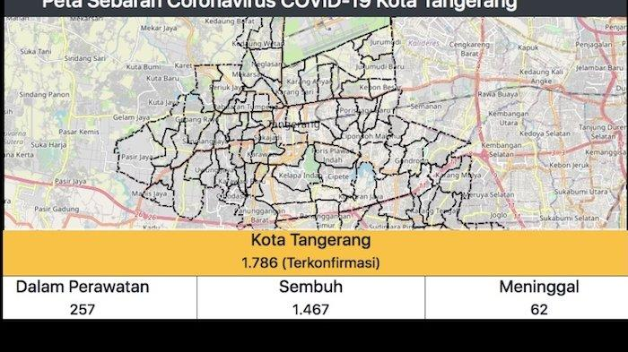 Update Pasien Covid 19 Di Kota Tangerang Jumat 9 Oktober Yang Dirawat 257 Total 1 789 Pasien Warta Kota