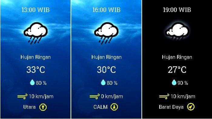 UPDATE Prakiraan Cuaca Jabodetabek Selasa (17/11), BMKG: Waspadai Hujan Petir di Jaksel Siang