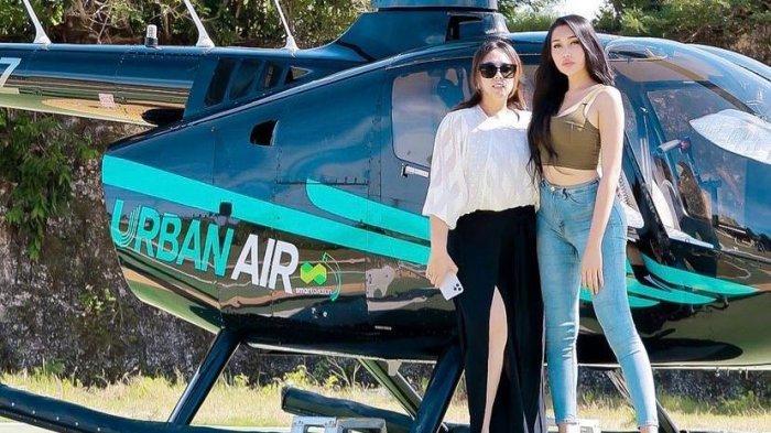Bisnis Sewa Helicopter Maharani Kemala Jadi Langganan Para Artis Saat Liburan ke Bali