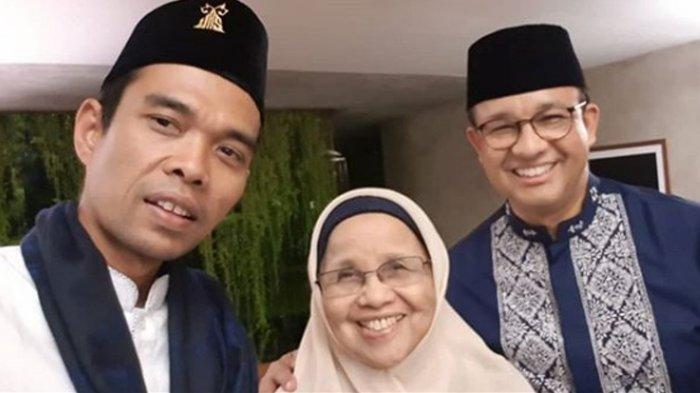 Bertemu dengan Aliyah Baswedan Ibunda Anies Baswedan, Ustadz Abdul Somad Teringat Almarhum Ibunya
