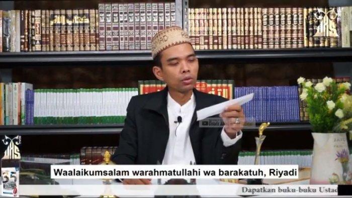 Ustaz Abdul Somad Ungkapkan Lima Waktu Paling Tepat Panjatkan Doa