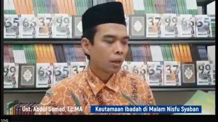 Malam Nifsu Syaban, Kata Ustadz Abdul Somad Perbanyak Istighfar dan Baca Doa Ini