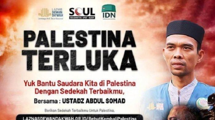 UAS Serukan Sedekah untuk Warga Palestina, Dewi Tanjung: Jangan Kau Jual Derita Rakyat Palestina
