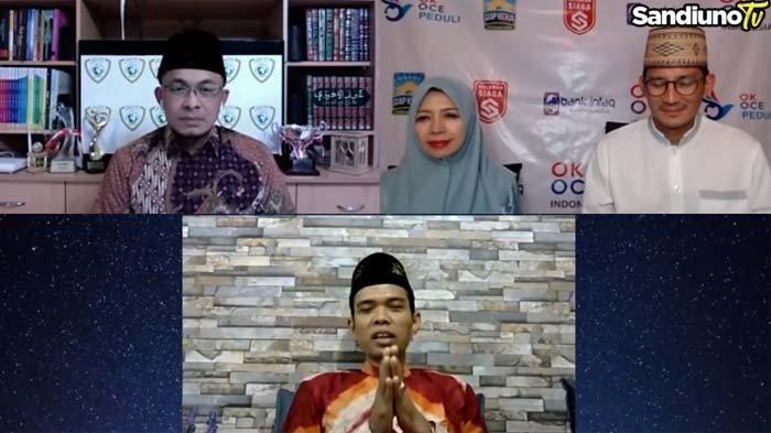 Terus Terngiang Kesalahan yang Diperbuatnya, Ustaz Abdul Somad Akhirnya Minta Maaf ke Sandiaga Uno