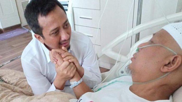 Ustaz Yusuf Mansur Ungkap Penyakit Ustaz Arifin Ilham Sebenarnya, Ajak Rakyat Berdoa