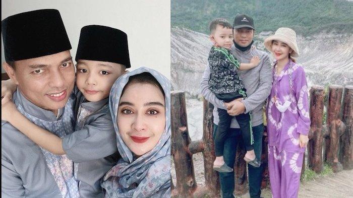 Uut Permatasari Temani Suami ke Makassar, Anak Semata Wayang Tidak Ikut : Edisi Melooww