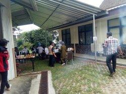 Pegawai dan Karyawan Balai Embrio Ternak di Desa Cipelang Jalani Vaksinasi Covid-19
