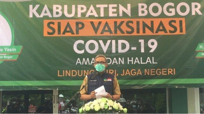 Wakil Bupati Bogor Iwan Setiawan menjadi pejabat pertama di lingkup Kabupaten Bogor yang akan menerima vaksin Covid-19 dari Sinovac.
