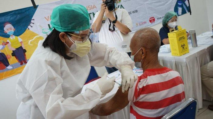 Wujudkan Rencana Vaksinasi 10 Ribu Lansia Dalam Sehari Dinkes Kabupaten Tangerang Lakukan Cara Ini