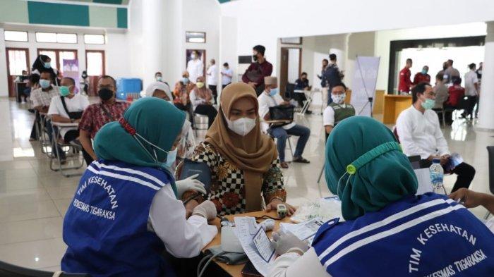 Puluhan Ribu Orang di Kabupaten Tangerang Telah Menjalani Vaksinasi Covid-19, Berikut Ini Rinciannya