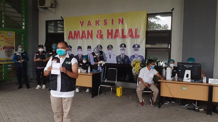 Hari Ini 118 Tenaga Kesehatan Kota Bekasi Mendapat Vaksin Covid-19 Sinovac