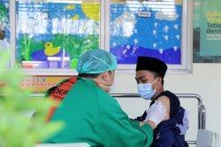 Pemkot Tangerang Gelar Vaksinasi Covid-19 untuk Kalangan Santri