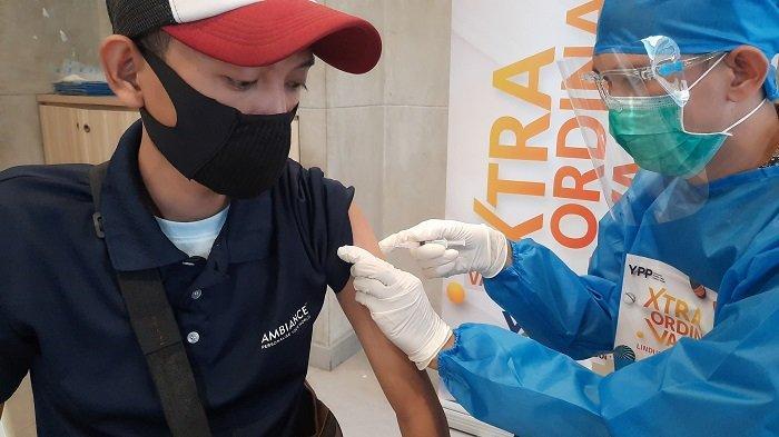 Puskesmas Pondok Betung Klaim Lakukan Penyuntikan Vaksinasi Covid-19 pada 600 Orang Per Hari