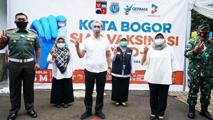 Ternyata Ada Jenderal dari 10 Pejabat Kota Bogor yang Disuntik Vaksin Covid-19, Ini Daftar Pejabat