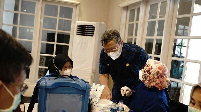 Pemerintah Kota Tangerang Selatan Gelar Vaksinasi Covid-19 Bagi 2.500 Lansia