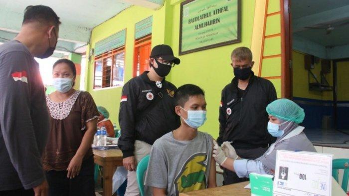 Ajak Warga Ikut Vaksin, Lurah Pejagalan Kecamatan Penjaringan: Jangan Terhasut Omongan Tidak Baik