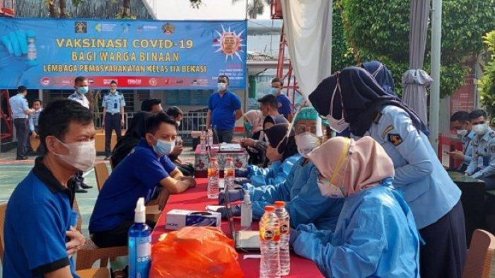 3.206 Warga Binaan Rutan Salemba Dijadwalkan Segera Terima Vaksin Covid-19
