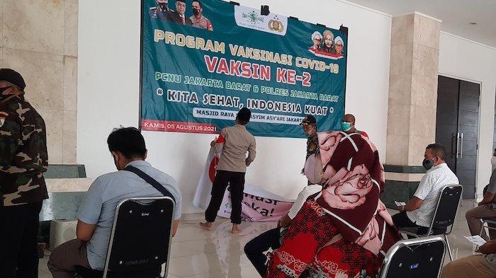 Masjid Raya KH Hasyim Asyari Kini Jadi Tempat Vaksinasi, Setelah Sebelumnya untuk Isolasi
