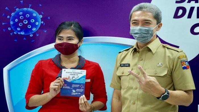 Pemkot Bogor Gelar Vaksinasi Covid-19 Bagi Pekerja Retail, Dedie A Rachim Sebut Agar Kota Bogor Aman